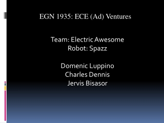 EGN 1935:  ECE AD Ventures