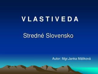 Stredn  Slovensko
