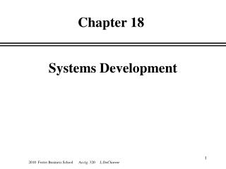 Systems Development