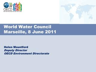 World Water Council Marseille, 8 June 2011