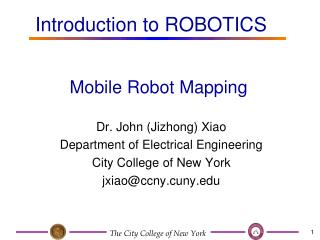 Mobile Robot Mapping