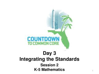 Session 2 K-5 Mathematics