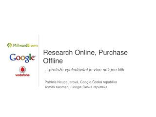 Research Online, Purchase Offline