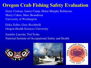 Oregon Crab Fishing Safety Evaluation