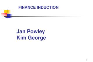 Jan Powley Kim George