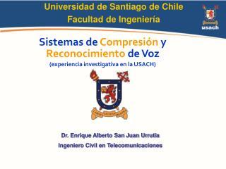 Universidad de Santiago de Chile Facultad de Ingenier a