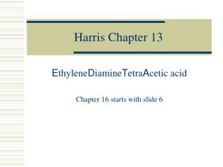 Harris Chapter 13