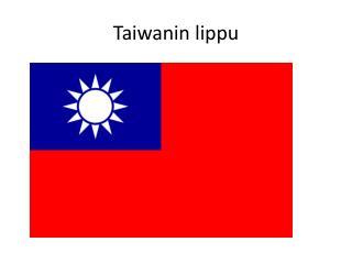 Taiwanin lippu