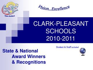 CLARK-PLEASANT SCHOOLS  2010-2011