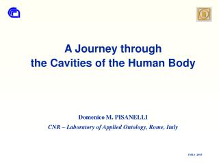 A Journey through the Cavities of the Human Body      Domenico M. PISANELLI CNR   Laboratory of Applied Ontology, Rome,