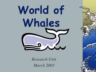 World of Whales