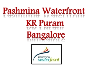 pashmina new project bangalore 09999620966