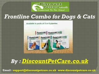 Frontline Combo for Dogs & Cats