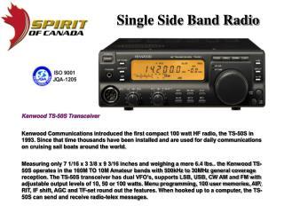 Single Side Band Radio