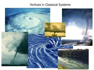 Vortices in Classical Systems