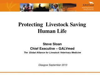 Steve Sloan Chief Executive   GALVmed The  Global Alliance for Livestock Veterinary Medicine