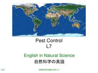 Pest Control L7