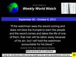 September 30   October 6, 2012