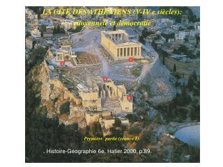 LA CITE DES ATHENIENS V-IV e si cles:  citoyennet  et d mocratie