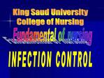 INFECTION CONTROL