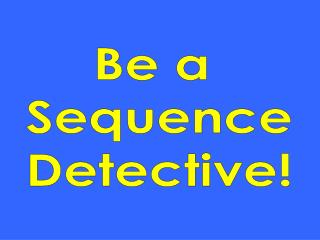 Be a SequenceDetective