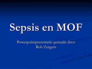 Sepsis en MOF
