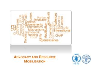 Advocacy and Resource Mobilisation