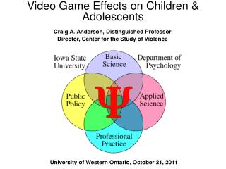 Video Game Effects on Children  Adolescents