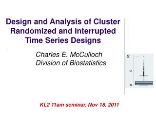 Design and Analysis of Cluster Randomized and Interrupted Time Series Designs