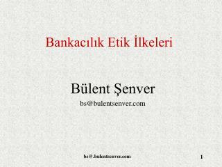 Bankacilik Etik Ilkeleri