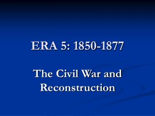 ERA 5: 1850-1877