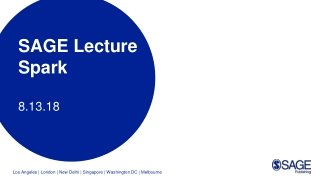 Lecture 10:   The Day After:   What Do We Think We Know