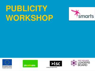 PUBLICITY WORKSHOP