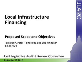 Local Infrastructure Financing