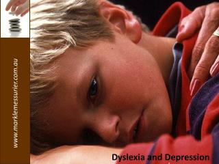 Dyslexia and Depression
