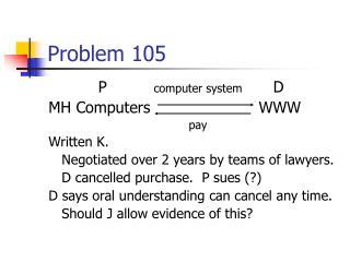 Problem 105