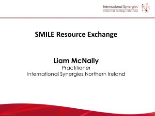 SMILE Resource Exchange   Liam McNally Practitioner International Synergies Northern Ireland