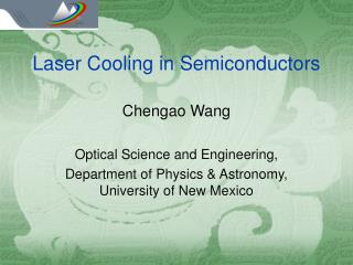 Laser Cooling in Semiconductors