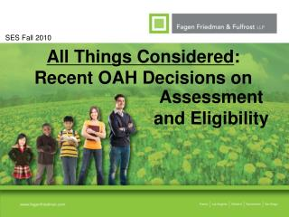 All Things Considered: Recent OAH Decisions on