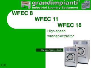 WFEC 8       WFEC 11            WFEC 18