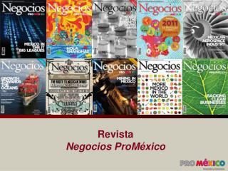 Revista  Negocios ProM xico