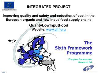 The  Sixth Framework  Programme