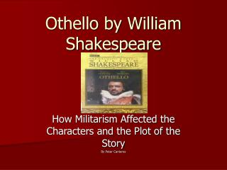 a feminist reading of othello essay