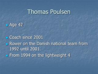 Thomas Poulsen