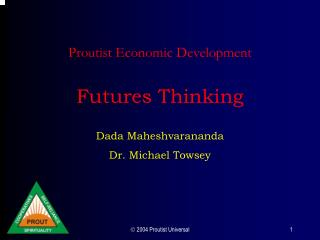Proutist Economic Development  Futures Thinking