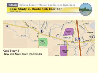 Case Study 2  New York State Route 146 Corridor