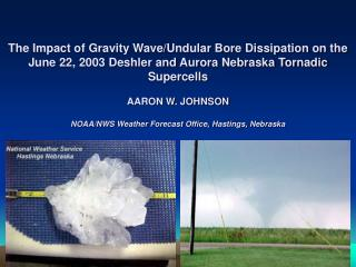 The Impact of Gravity Wave