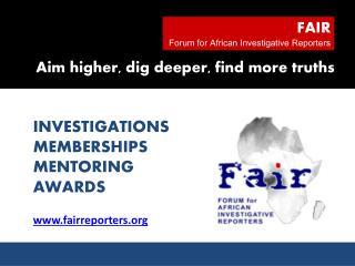 Fairreporters