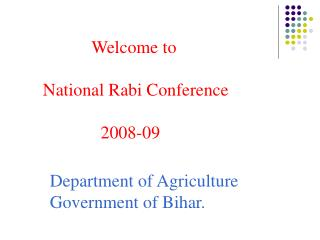 Department of Agriculture Government of Bihar.