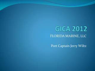 GICA 2012